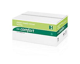 WEPA Papierhandtuch Comfort 277190 25x23cm weiß 20x160 Bl./Pack.