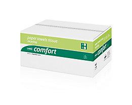 WEPA Papierhandtuch Comfort 277150 25x33cm weiß 3.072 Bl./Pack.
