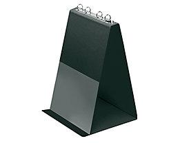Veloflex Tischflipchart V4102080 DIN A4 hoch 4Ringe 10Hüllen schwarz