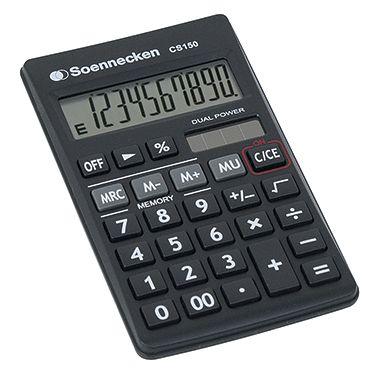 Soennecken Taschenrechner CS150 8660 schwarz