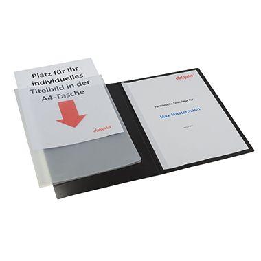 dataplus Präsentationsmappe Slide S 20187-086 DIN A4 natur-transparent