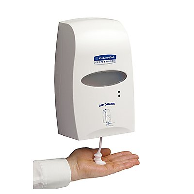 Kimberly-Clark Seifenspender Sensor 92147 29x18,3x10cm 1,2l weiß