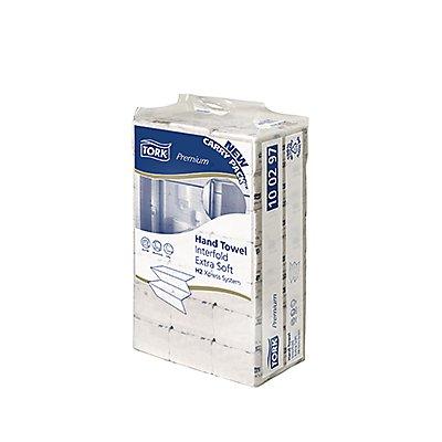 Tork Papierhandtuch Premium 100297 21x34cm 2lagig weiß 2.100 Bl./Pack.