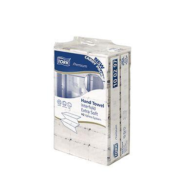 Tork Papierhandtuch Premium 100297 21x34cm 2lagig weiß 2.100 Bl./Pack. -