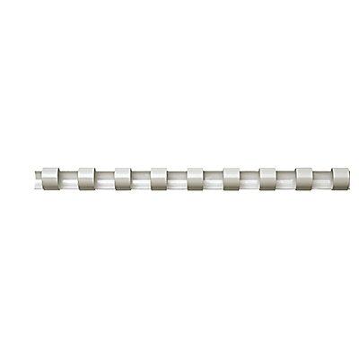 Fellowes Plastikbinderücken 5347405 DIN A4 19mm weiß 100 St./Pack.