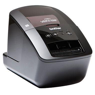 Brother Etikettendrucker QL720NWZG1 12,8x15,3x23,6cm schwarz