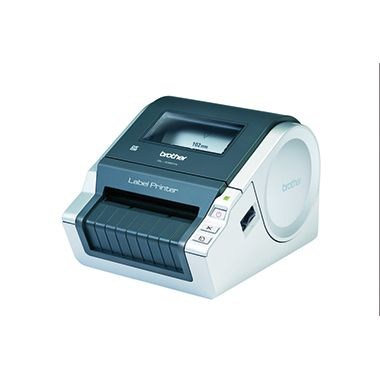 P-touch Etikettendrucker QL1060NG1 17x22x14,8cm schwarz/grau