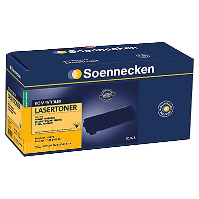 Soennecken Toner 81078 wie HP CE278A 2.200S. schwarz