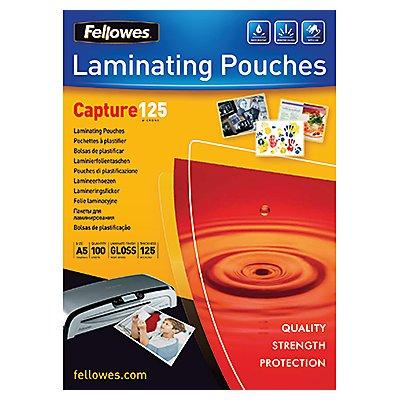 Fellowes Laminierfolie Capture 125 5307302 DIN A5 tr 100 St./Pack.