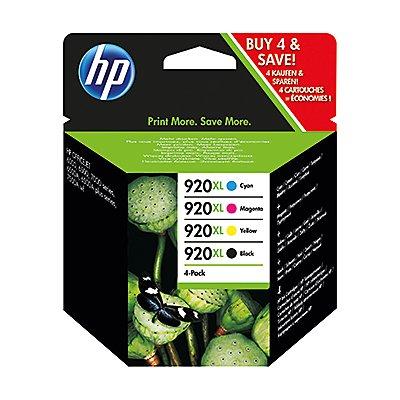 HP Tintenpatrone C2N92AE Nr.920XL sw/c/m/y 4 St./Pack.