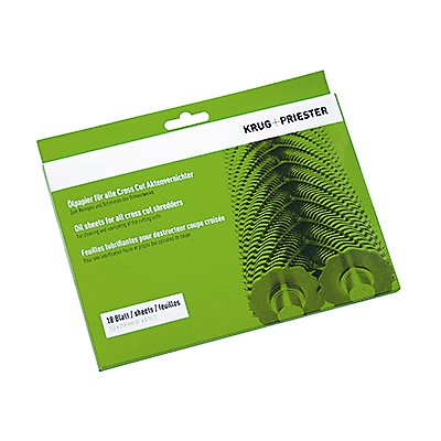 IDEAL Ölpapier 9000631 für Aktenvernichter 18 Bl./Pack.