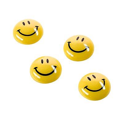magnetoplan Magnet Smilies 16671 20mm gelb 8 St./Pack