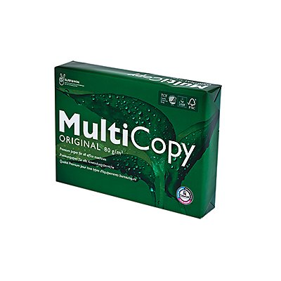 Multicopy the Reliable Paper Kopierpapier 88046505 DIN A4 weiß