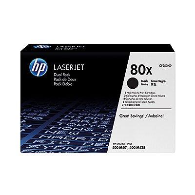 HP Toner CF280XD 80X 6.900Seiten schwarz 2 St./Pack.