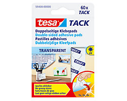 tesa Klebepad Tack 59401-00000 10x10mm transparent 200 St./Pack