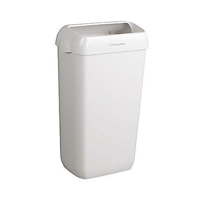 AQUARIUS Objektpapierkorb 6993 44x28x28cm weiß 2 St./Pack.