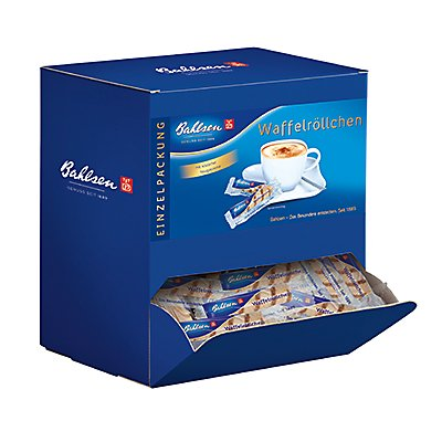 Bahlsen Gebäck Waffelröllchen 95770 150 St./Pack.