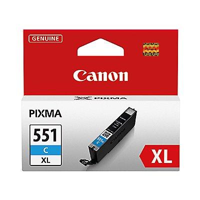Canon Tintenpatrone CLI551XLC 6444B001 11ml cyan