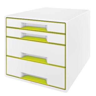 Leitz Schubladenbox WOW CUBE 4Schubfächer