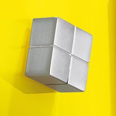 Magnet SuperDym C10 GL195 20x10x20mm bis 15Blatt silber