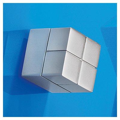 Sigel Magnet SuperDym C20 GL196 20x20x20mm bis 25Blatt silber
