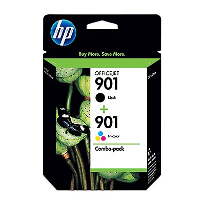 HP Tintenpatrone SD519AE 445 Nr.901 sw/c/m/y 2 St./Pack.