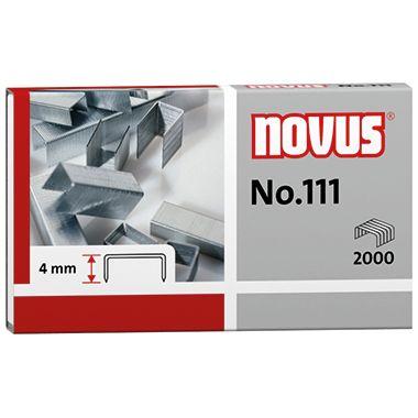 NOVUS Heftklammer No. 111 042-0036 verzinkt 2.000 St./Pack.