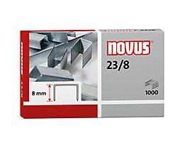 NOVUS Heftklammer 23/8 042-0040 verzinkt 1.000 St./Pack.