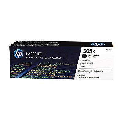 HP Toner CE410XD Nr.305X 4.000Seiten schwarz 2 St./Pack.