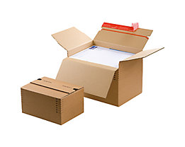 ColomPac Versandkarton CP141.201 DIN A4 30,4x13-22x21,6cm braun