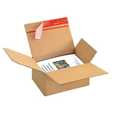 ColomPac Versandkarton CP151.110 DIN A5 21,3x10,9x15,3cm braun