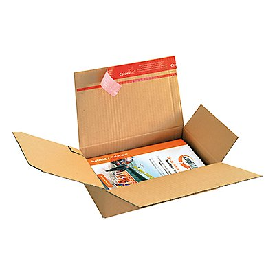 ColomPac Versandkarton CP151.150 Blitzboden 260x220x130mm braun
