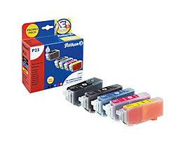 Pelikan Tintenpatrone 4107527 wie PGI52 sw/c/m/y 5 St./Pack.