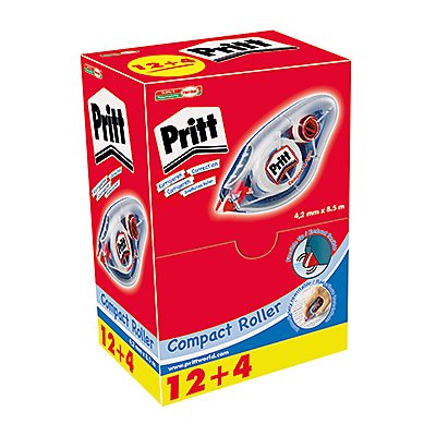 Pritt Korrekturroller 9H PCCEP Multipack 4,2mmx8,5m 16 St./Pack.