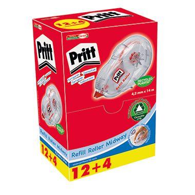 Pritt Korrekturroller 9H PCREP Multipack 4,2mmx8,5m 16 St./Pack.