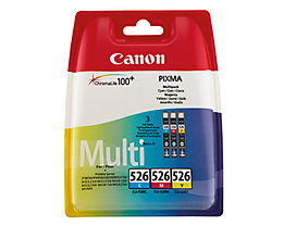Canon Tintenpatrone CLI526 4541B009 c/m/y 3 St./Pack.