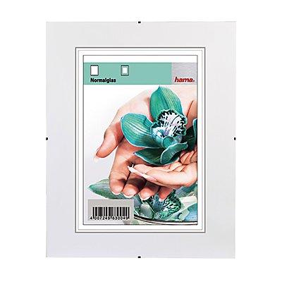 Hama Bilderrahmen Clip-Fix 00063120 21x29,7cm rahmenlos antireflex tr