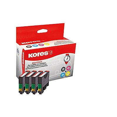 Kores Tintenpatrone G1616KIT wie C13T128540 sw/c/m/y 4 St./Pack.