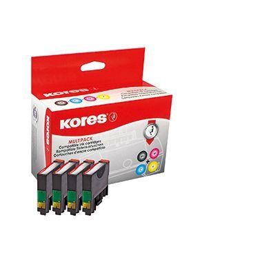 Kores Tintenpatrone G1622KIT wie C13T181640 sw/c/m/y 4 St./Pack.