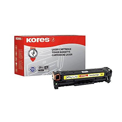 Kores Toner G1233RBG wie HP CE412A 305A 2.600Seiten gelb