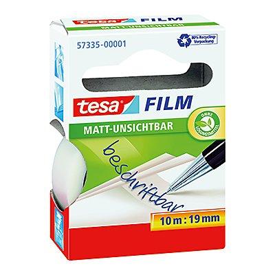 tesa Klebefilm tesafilm matt- unsichtbar 57312-00008 19mmx33m