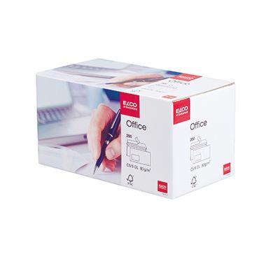 ELCO Briefumschlag Office  DL  hk weiß 200 St./Pack.