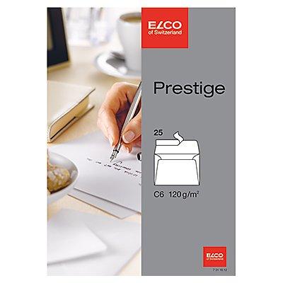 ELCO Briefumschlag Prestige   oF hk hochweiß 5 St./Pack.