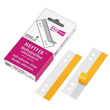 Veloflex Heftstreifen HEFTFIX 2002000 2x10,5cm tr 50 St./Pack.