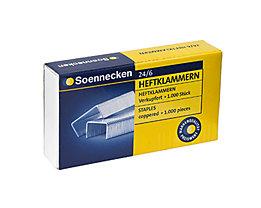 Soennecken Heftklammern  24/6  1.000 St./Pack.
