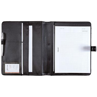 Alassio Schreibmappe FANO 30073 26x32,2x2cm Lederimitat schwarz