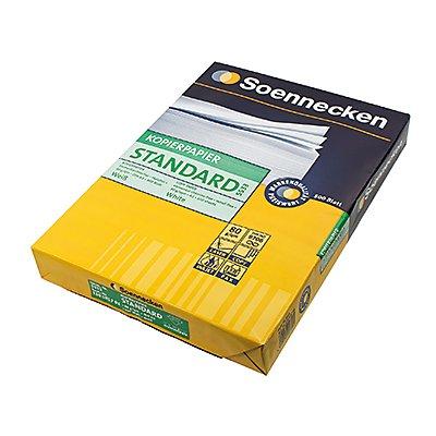 Soennecken Kopierpapier Standard  DIN  80g weiß 500 Bl./Pack.