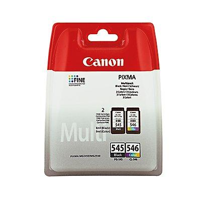 Canon Tintenpatrone PG545+CL546 8287B005 sw/c/m/y 2 St./Pack.