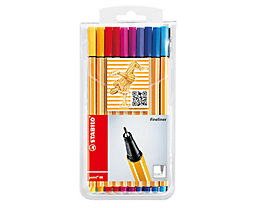 STABILO Fineliner point 88 8820 0,4mm farbig sortiert 20 St./Pack.