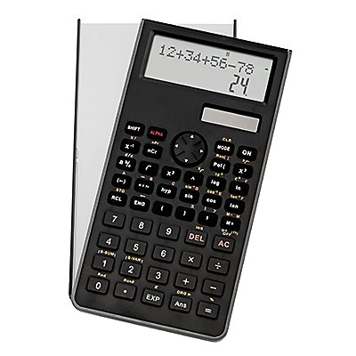 GENIE Schulrechner 82SC 12071 240Funktionen 10stellig schwarz